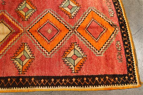 Tribal Runner Rug Vintage Moroccan Tribal Rug Runner Matisse Style At 1stdibs