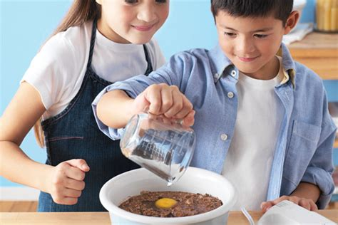 teaching to cook by age kraft recipes