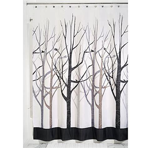 donna karan curtains interdesign forest shower curtain gray and black 72 x 84