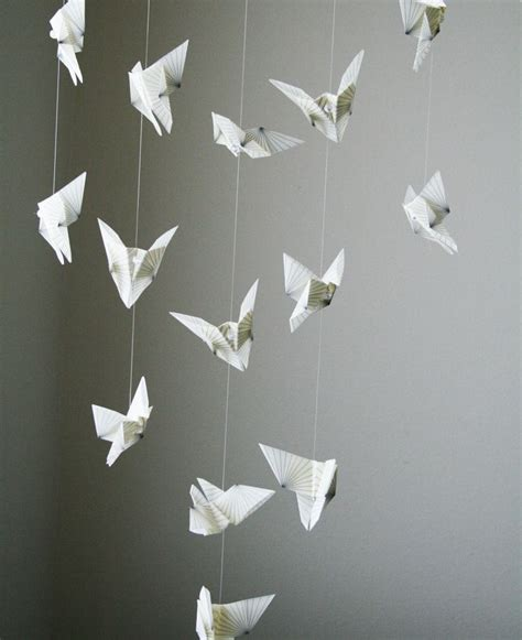 Origami Crane Hanging - 17 best images about origami mobile on origami