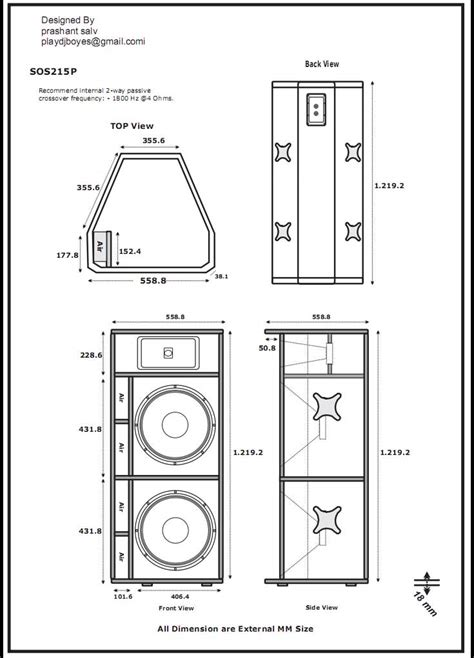 learn 20 20 cabinet design 1000 images about hp s on plan plan speaker