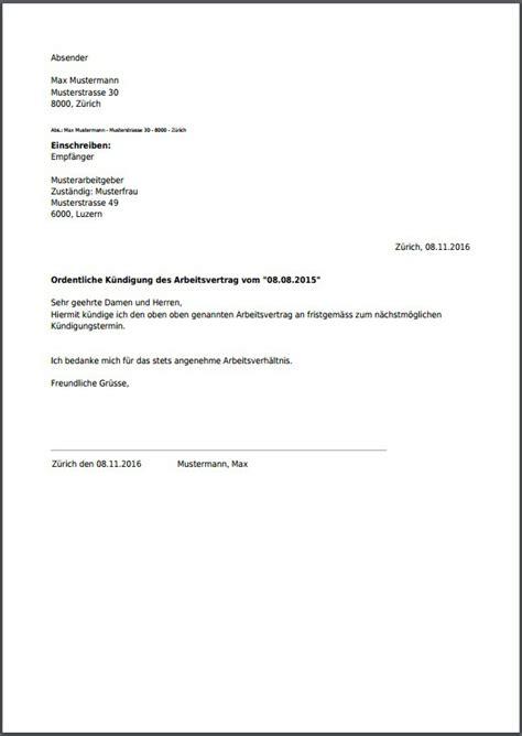 Vorlage Kã Ndigung Arbeitsvertrag K 252 Ndigung F 252 R Deinen Arbeitsvertrag Als Pdf Erstellen