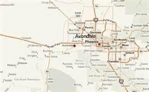 avondale arizona map avondale location guide