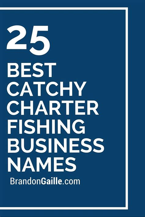 best boat charter names 27 best catchy charter fishing business names business