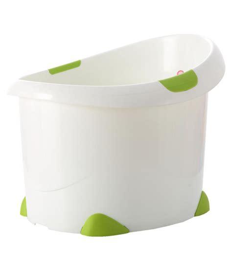 sit up bathtub babyoye sit up bath tub green buy babyoye sit up bath