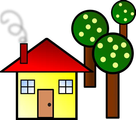 clipart home house free stock photo illustration of a house with