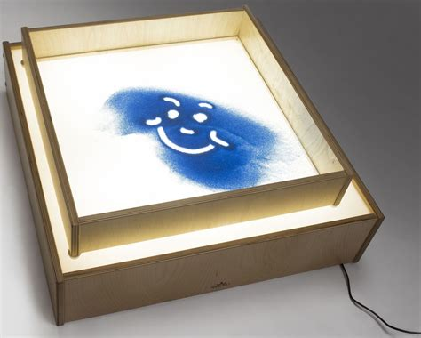 light table sand sand box for light table from brothers coleman