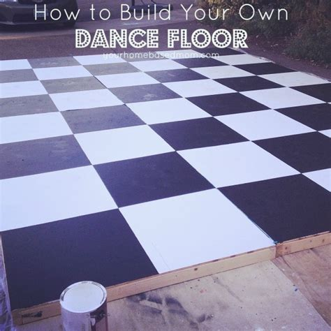 how to build floor how to build a dance floor