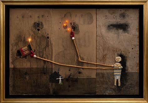 david lynch exhibition new painting and sculpture