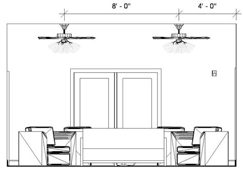 autocad ceiling fan block revitcity ceiling fans in elevations