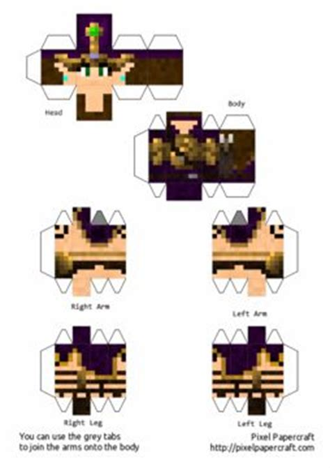 How To Make Paper Minecraft Characters - make your own real minecraft world with pixel