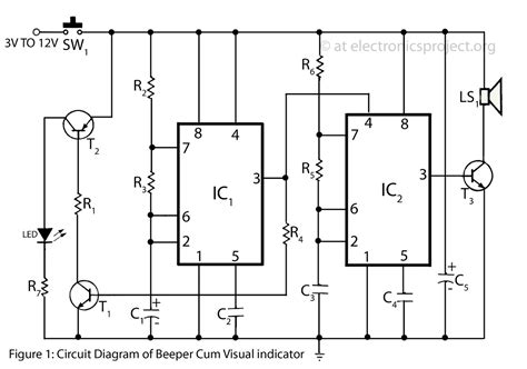 linear integrated circuits mini projects using ic 741 digital integrated circuit experiments 28 images lm1040 tone circuit diagram project circuit