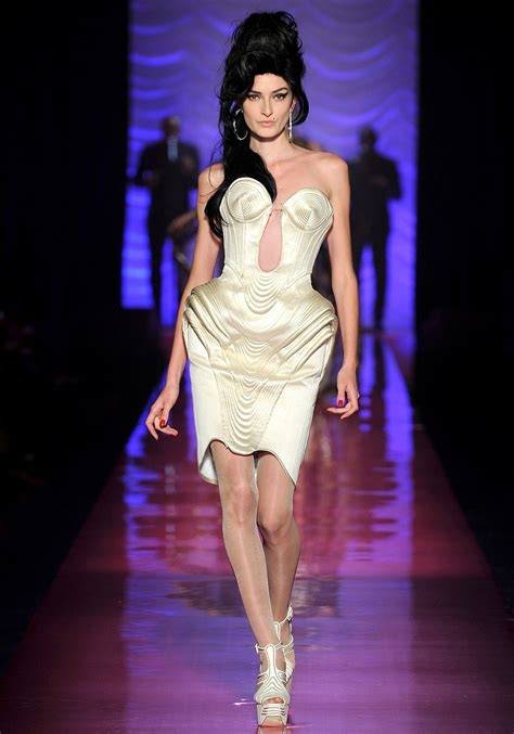 From Rehab To Catwalk by Jean Paul Gaultier Haute Couture An Winehouse Tribute