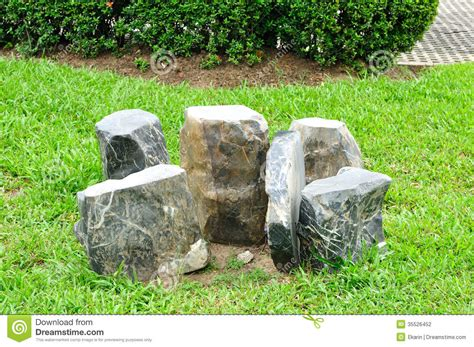 table  chairs set   rock stock photo image