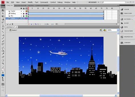 flash tutorial youtube video adobe flash animation tutorial a helicopter flying over