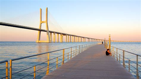 Pont Vasco da Gama : Découvrez Lisbonne avec Expedia.fr