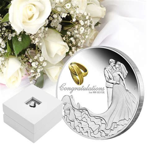 Wedding Gift Ideas Perth by Perth Mint Silver Coin A Traditional Wedding Gift Coin