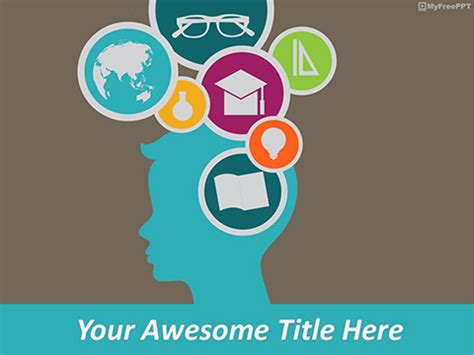 free education powerpoint template free puzzle powerpoint templates themes ppt