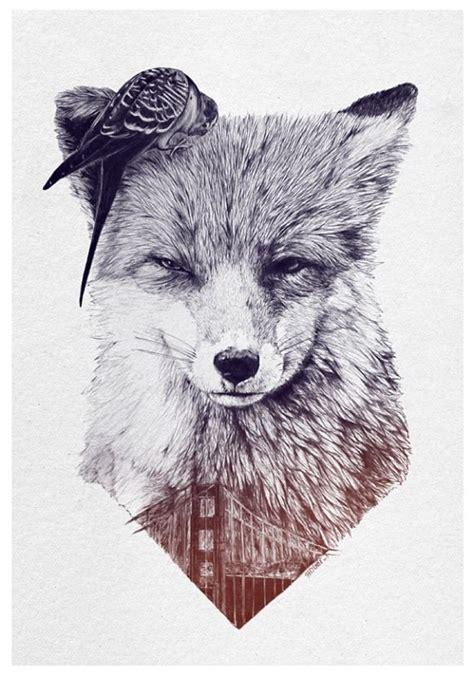 black and grey fox tattoo black and grey fox tattoo design best tattoo designs