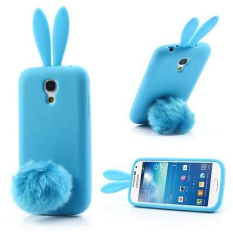 Softshell Tpu Kelinci Rabbit Samsung S4 schutz h 252 lle silikon cover f samsung galaxy s4 mini i9190 bunny rabbit blau ebay