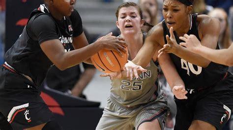 uconn womens basketballs kyla irwin state college grad
