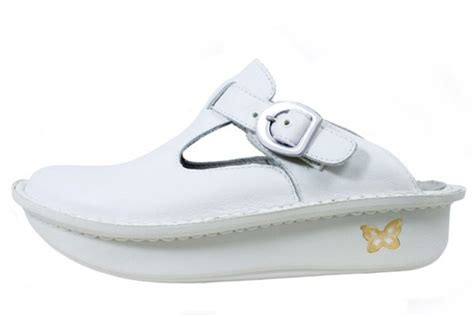 alegriadonna white leather original
