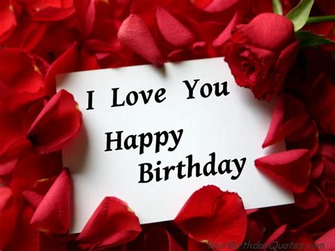 Happy Birthday Wishes In For Lover Happy Birthday Quotes For Him Quotesgram