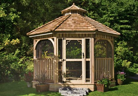 cedar gazebo kits awesome cedar gazebo kits 4 screen gazebo kits