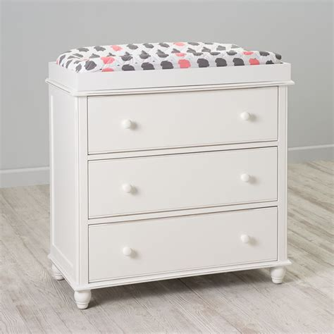 Jenny Lind 3 Drawer Changing Table White Lind Changing Table White