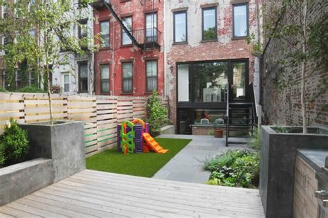 Landscape Architect York Garden Playground Modern Landscape New York