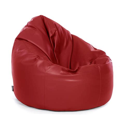 bean bag chaise real leather bean bag chair
