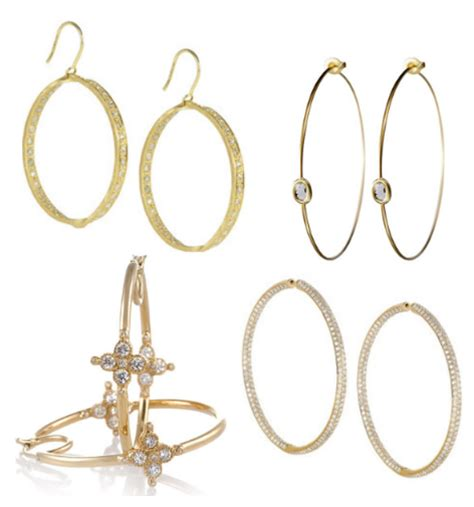 a mini guide on how to choose earrings for your face shape the wife guide gold hoop earrings taryn cox the wife