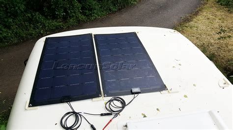 where can you put solar panels volkswagen vw t4 or t5 cing vans install