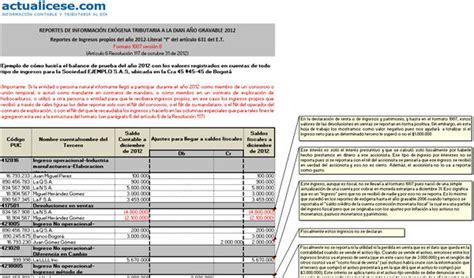 nuevis plazos presentacion informacion exogena en colombia ai gravable 2015 resolucion medios magneticos presentar informacion 2016
