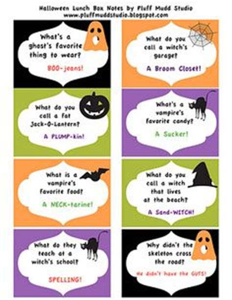 printable halloween knock knock jokes 1000 images about kids jokes and lunch box notes on