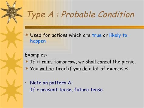 sentence pattern of mary is exhausted conditional sentences