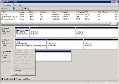 dynamic tutorial questions windows server 2008 convert to dynamic disk option