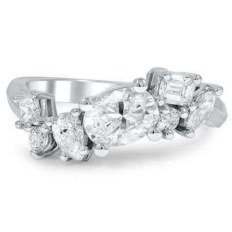 Wedding Ring Custom Design by Custom Assorted Cluster Ring Brilliant Earth