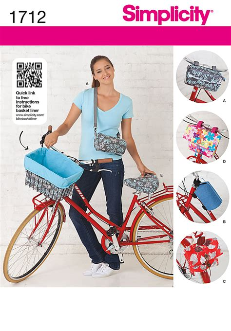 pattern review best of 2012 simplicity 1712 bicycle bags and seat cover