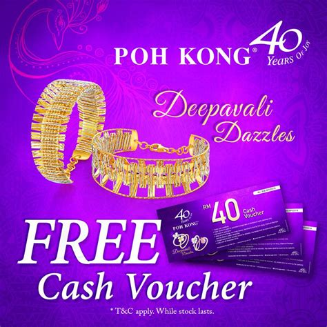 poh kong new year promotion poh kong jewellery deepavali dazzles fashion