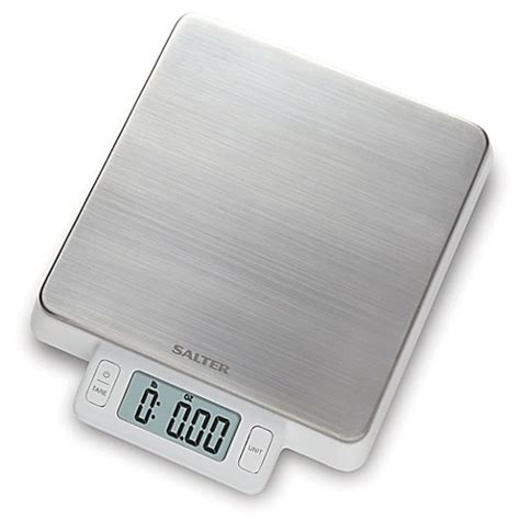 food scale bed bath beyond salter 174 high precision stainless steel digital kitchen