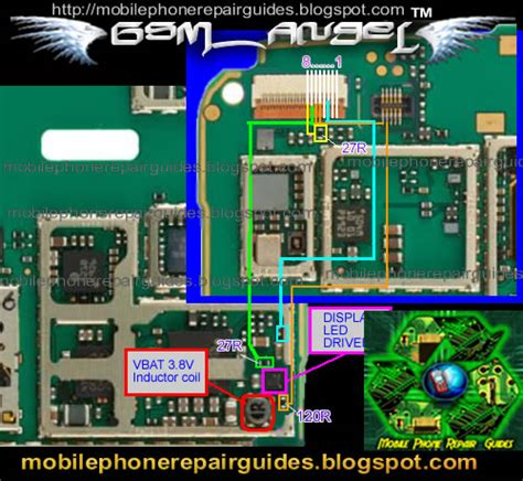 Nokia 5233 Light Themes In   qmobile99 5233 lcd light problem