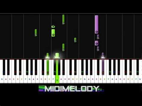 piano updated version let it go piano tutorial indina menzel updated version