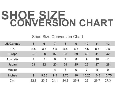 shoes size chart irving shoes size chart