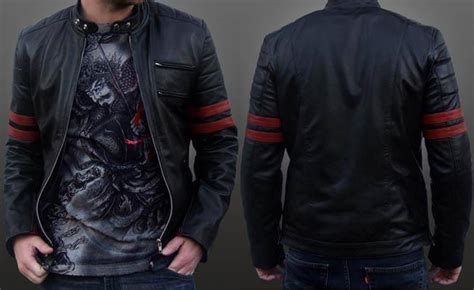Jaket Kulit Sintetis Jaket Semi Kulit Wolverine Sintetik Semikulit 10 model jaket semi kulit pria terbaru 2016