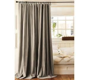 Neutral Curtains Window Treatments Designs Two Pottery Barn Velvet Drapes Curtains Panels Drapery 50x84 Grey Neutral Ebay