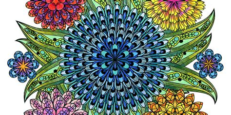 This Mandala Coloring Book For Grown Ups Is The Creative's