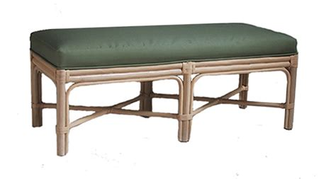 rattan benches fong brothers co fb 3802 a bench
