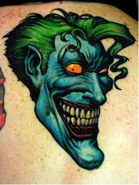 joker joe tattoo dews views joker tattoos