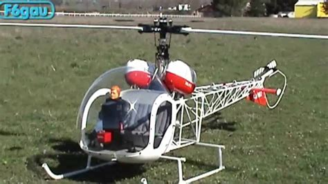 Bell Vario helicoptere thermique bell 47 g3 vario
